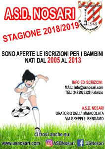Locandina Stagione 2018-2019